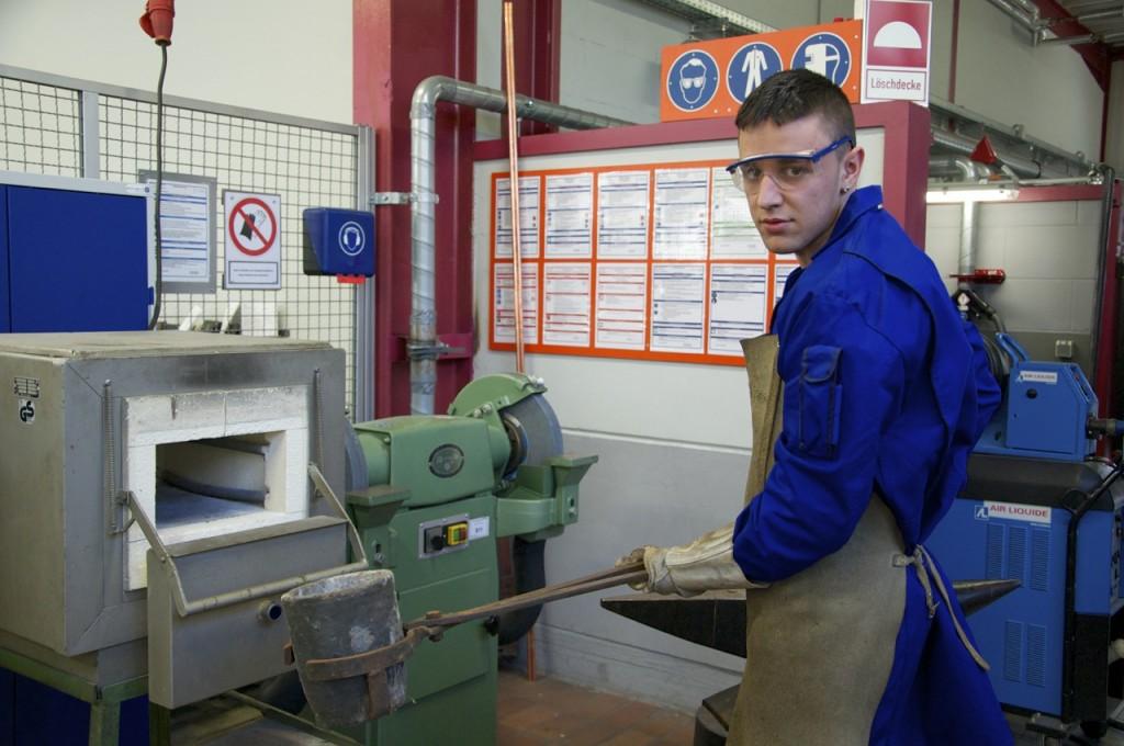 Gießereimechaniker, Foto: © T. Hene
