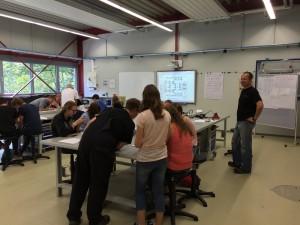 Sommercamp 2015 Elektrotechnik
